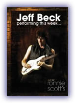 Jeff Beck: Performing This Week Live At Ronnie Scott's Jazz Club