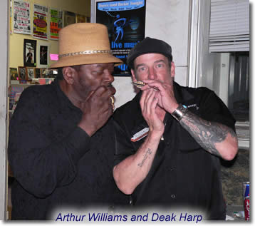 Arthur Williams & Deak Harp