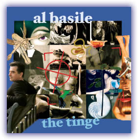 CD image - Al Basile – The Tinge – Sweetspot, 2007