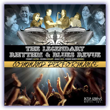 CD image - The Legendary Rhythm & Blues Revue – Command Performance