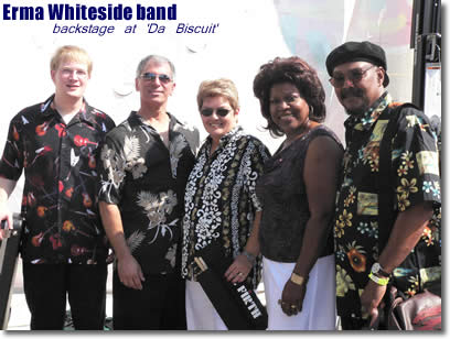 The Erma Whiteside band