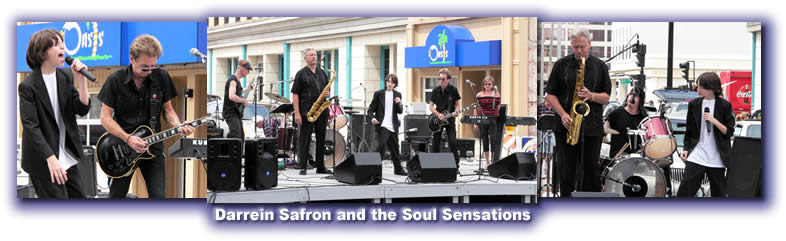 Darrein Safron and the Soul Sensations