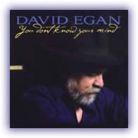 CD image David Egan – You Don't Know Your Mind