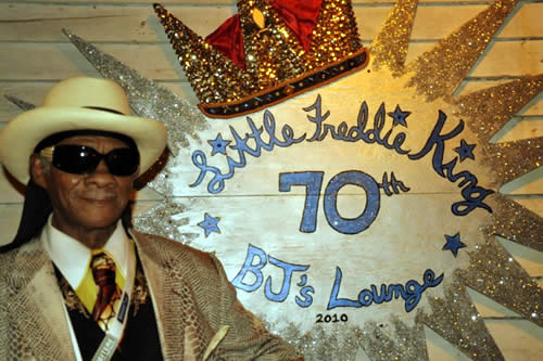 """Fest Junkie"" at Little Freddie King's 70th Birthday Celebration"