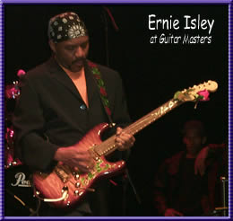 Ernie Isley at the Guitar Masters