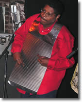 Chubby Carrier washboard player