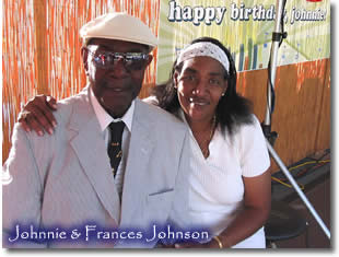 Johnnie &  Frances Johnson