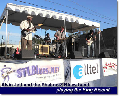 Alvin Jett and the Phat noiZ Blues band