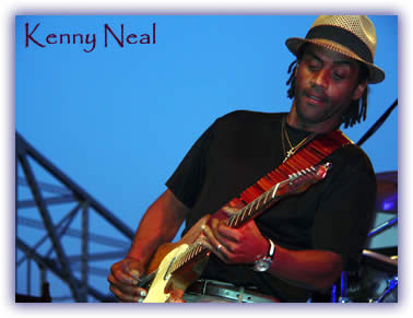 Kenny Neal at the Big Muddy Blues Festival
