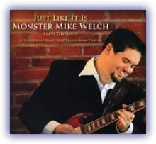 CD image of Monster Mike Welch – Just Like It Is