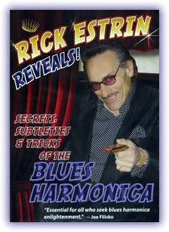 CD image - Rick Estrin – Rick Estrin Reveals! Secrets, Subtleties & Tricks of the Blues Harmonica