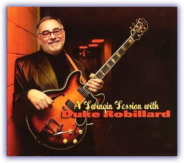 Duke Robillard – A Swingin' Session With Duke Robillard