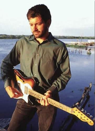 Louisiana bluesman Tab Benoit interview   Tab Benoit Telecaster